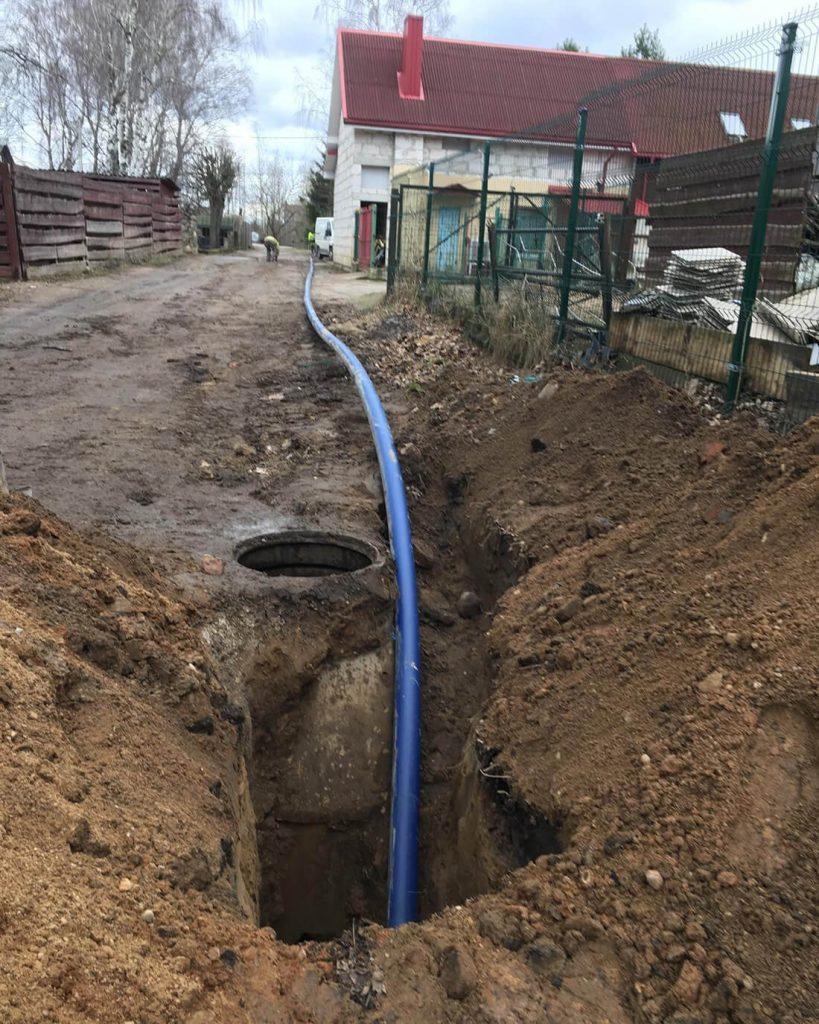 Vandentiekio Ir Kanalizacijos Prijungimas Prie Miesto Tinklų - Hidro Inžinerija 4